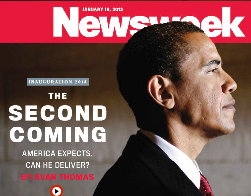Newsweek (2018) Touts Obama as the Second Coming of the Messiah