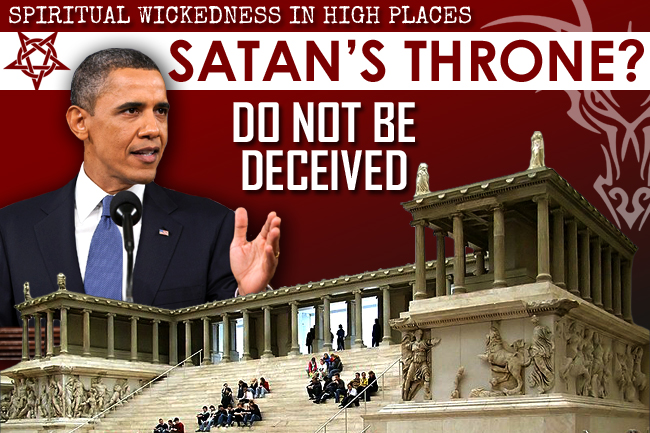 Satan's Throne: Are You Prepping with Spiritual Situational Awareness?