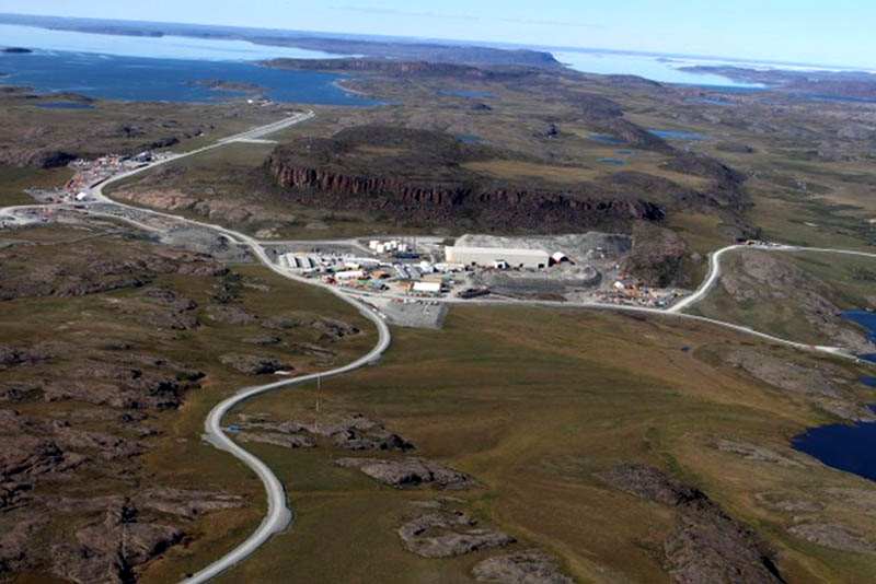 A 2019 image from TMAC shows its Hope Bay operation in Nunavut, Canada. PHOTO: TMAC RESOURCES