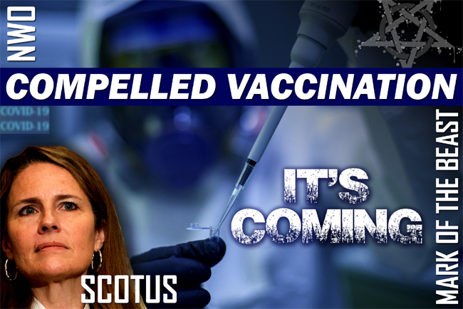 Amy Coney Barrett & SCOTUS WILL Back Mandatory Covid Vaccine
