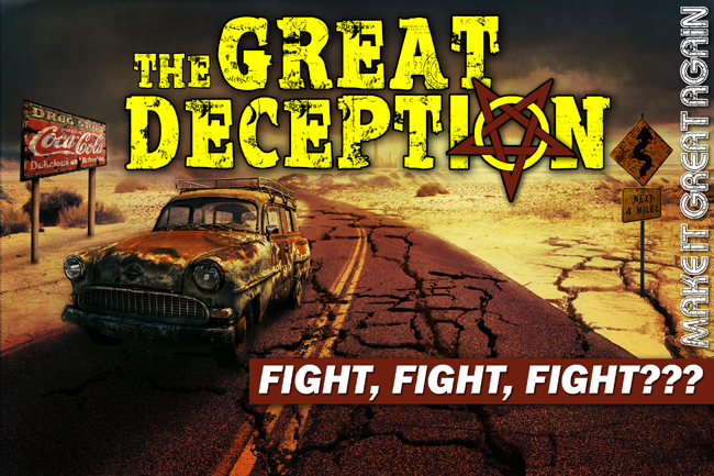 The Great Deception: 4 Biblical Reasons NOT to Fight the NWO Transformation?