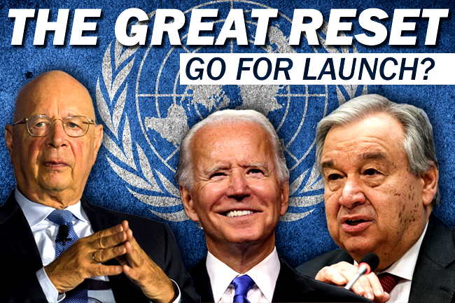 Biden Tells Guterres & UN that US Is Onboard for Great Reset?