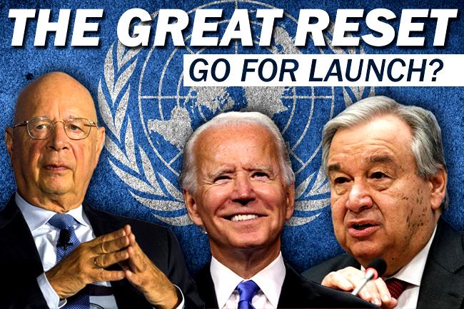 Biden Tells Guterres & UN that US Is Onboard for Great Reset?