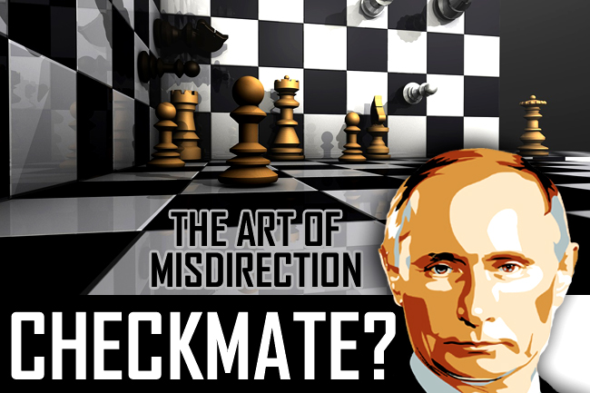 Russia Saber Rattling—A Case of Misdirection Setting Stage for Middle East War?