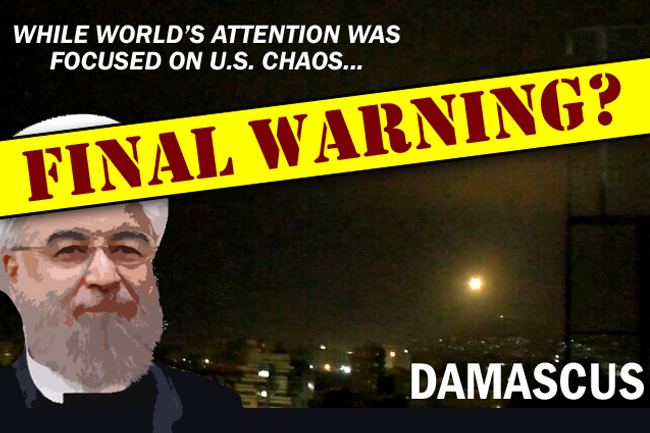 Israel Strikes Damascus While World Focused on US Chaos—Final Warning?