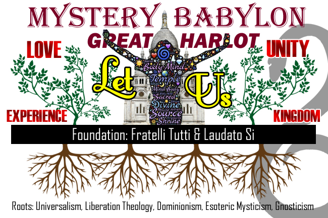 The Roots and Foundation of Mystery Babylon--False Gospel of False Prophet Pope Francis