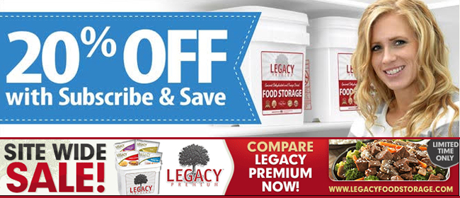 Legacy Foods | Subscribe & Save Today