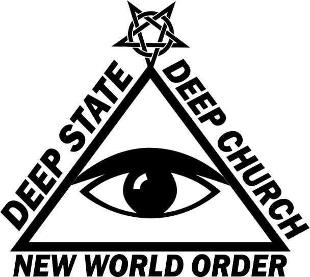 New World Order: The Deep State—Deep Church Relationship (Satanic Gnostic/Masonic Pyramid)