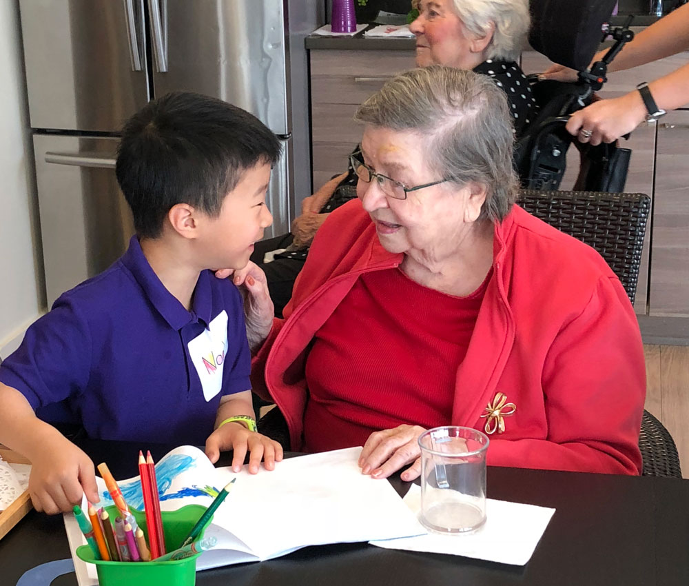 Sprouts Academy Intergenerational Learning