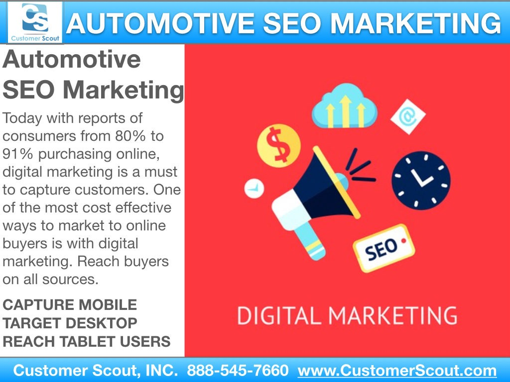 Customer Scout Auto SEO Digital Marketing