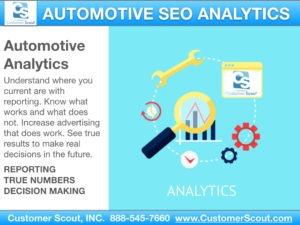 Customer Scout Automotive Analytics SEO