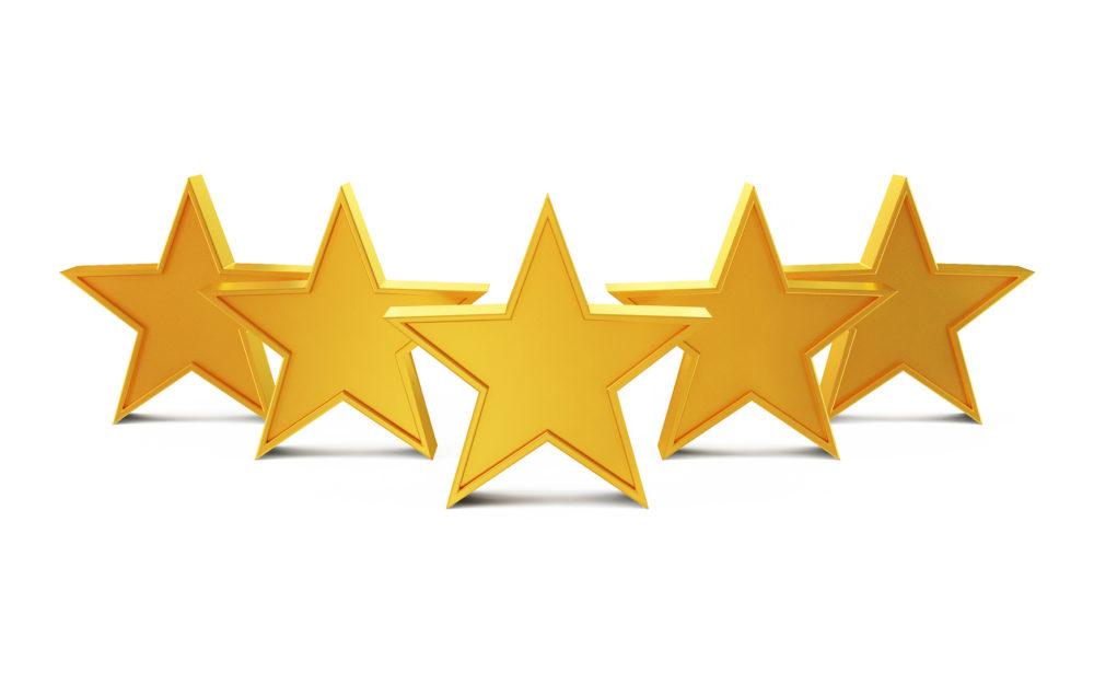 customer scout seo five stars