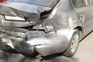Legal options after being rear ended by a commercial vehicle