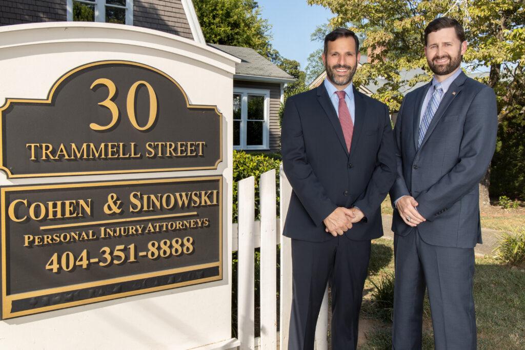 Tom & Scott Front of Office