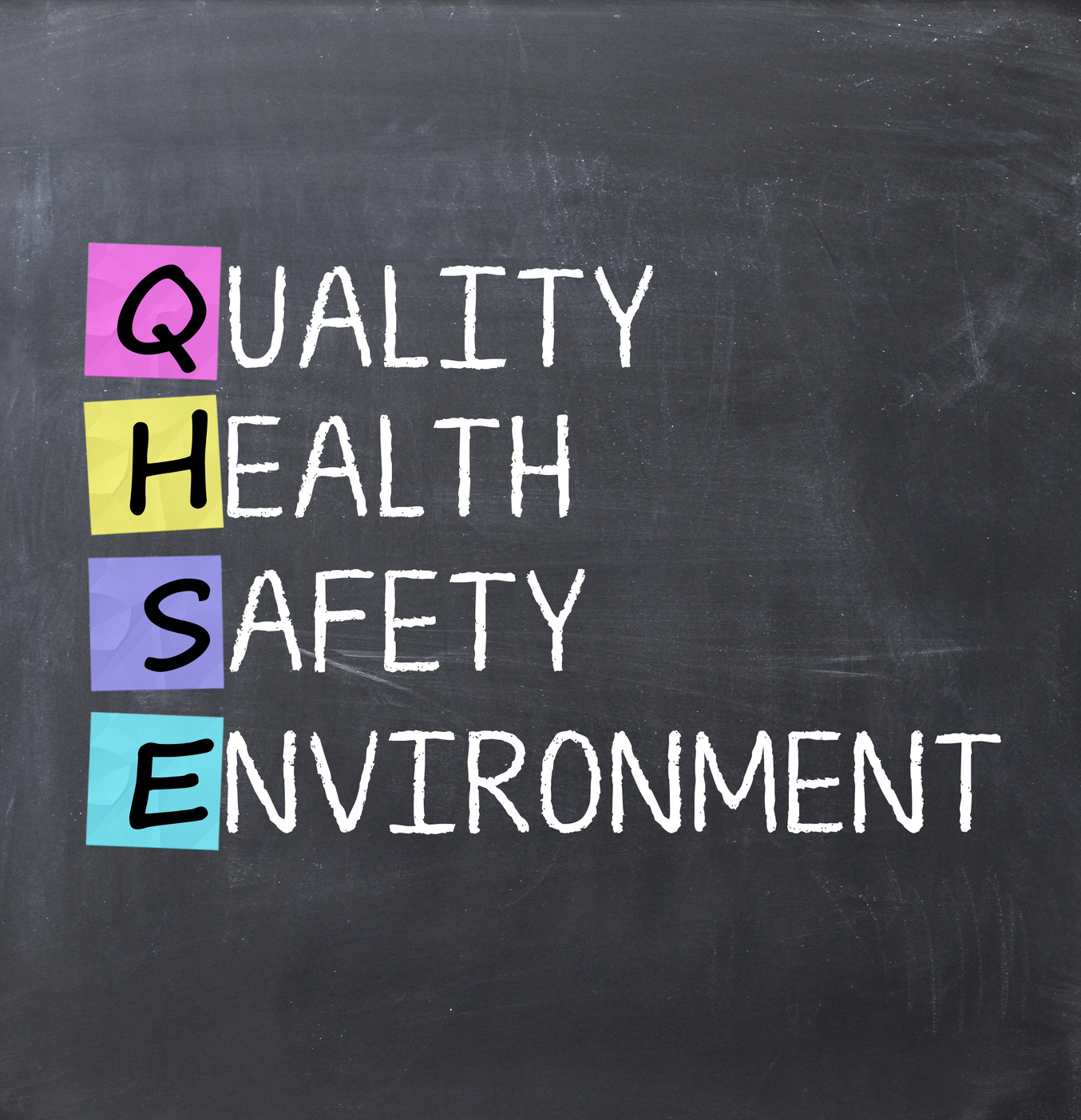 Quality health safety and environment