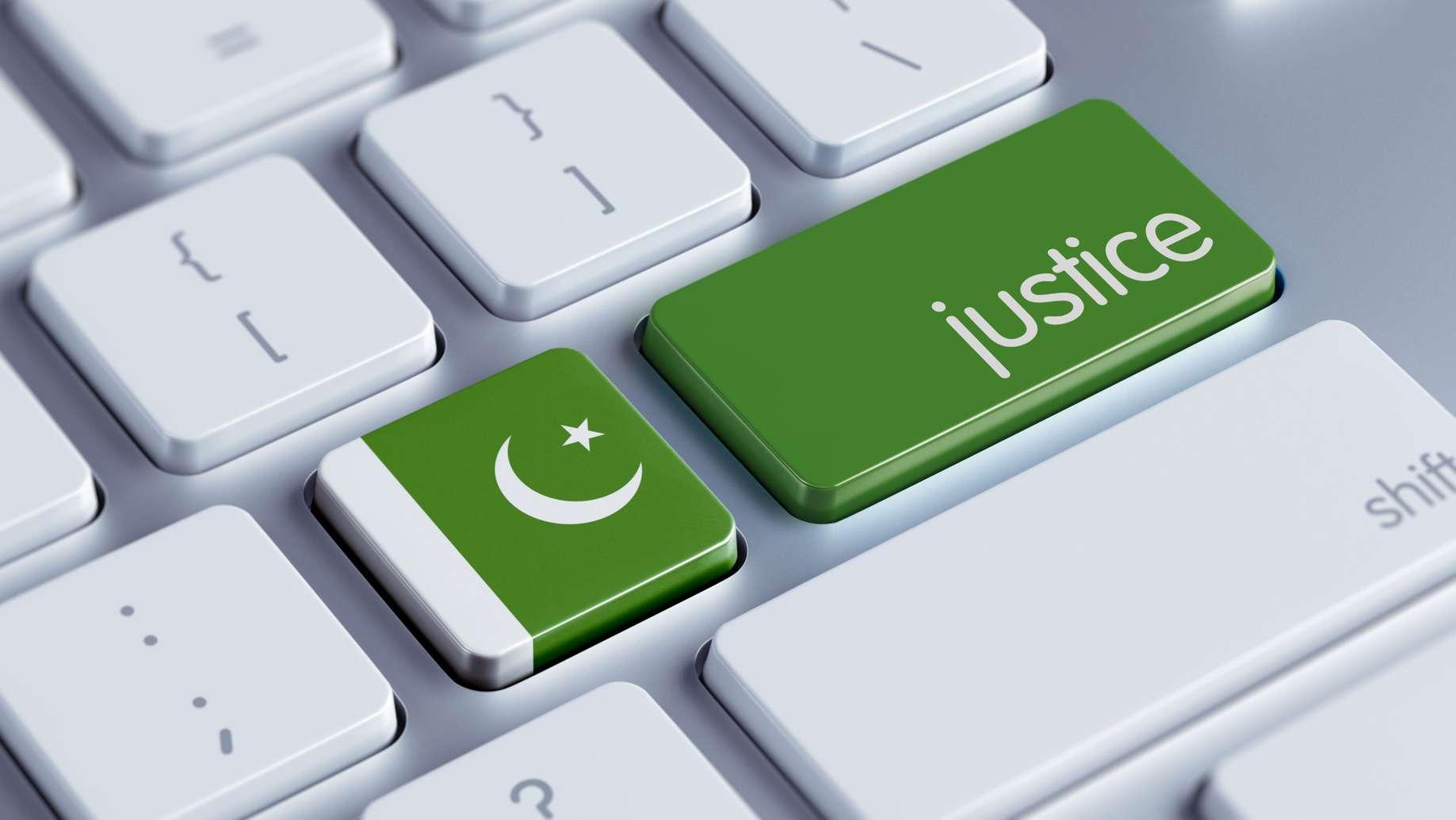 Pakistan Justice Concept