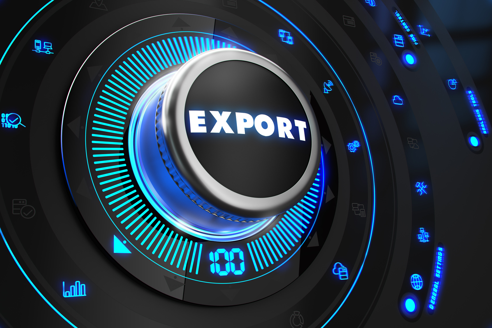 Export Regulator on Black Control