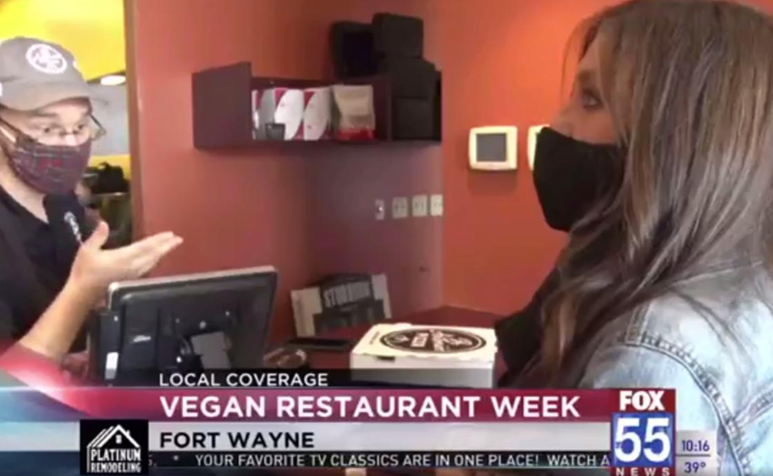 Fort Wayne Vegan Restaurant Week To Go on Fox55