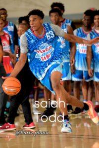 isaiah todd. pangos all american camp. basketball.