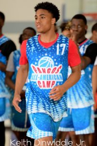keith dinwiddie. pangos all american camp.