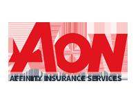 logotipo de seguro de afinidad aon