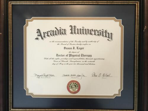 Cert-Doctor of Physical Therapy