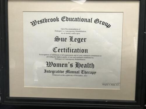 Women-s Health Certification