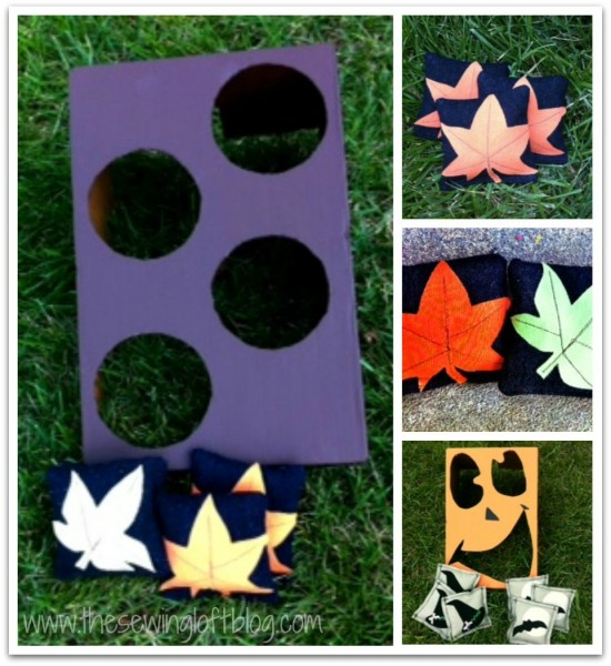 Fall Toss Game -The Sewing Loft