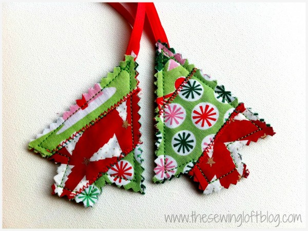 Quilted Trees -The Sewing Loft
