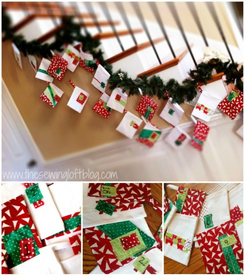 advent calendar -The Sewing Loft