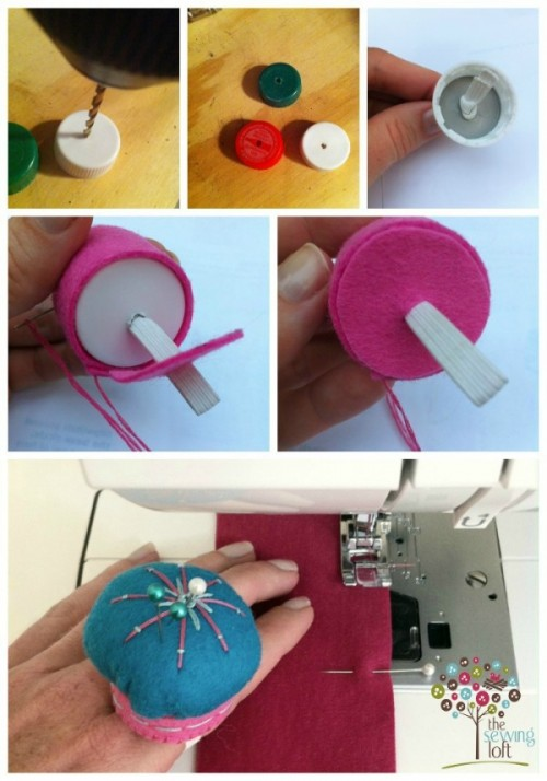 Pin Cushion Ring How To