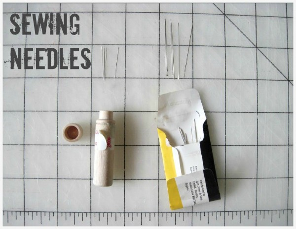 How to use Sewing Needles on The Sewing Loft