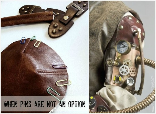 Steampunk arm fashion - The Sewing Loft