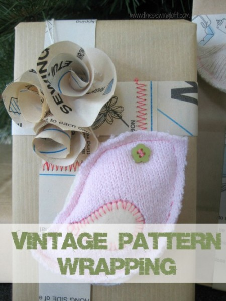 Pattern Gift Wrapping - The Sewing Loft