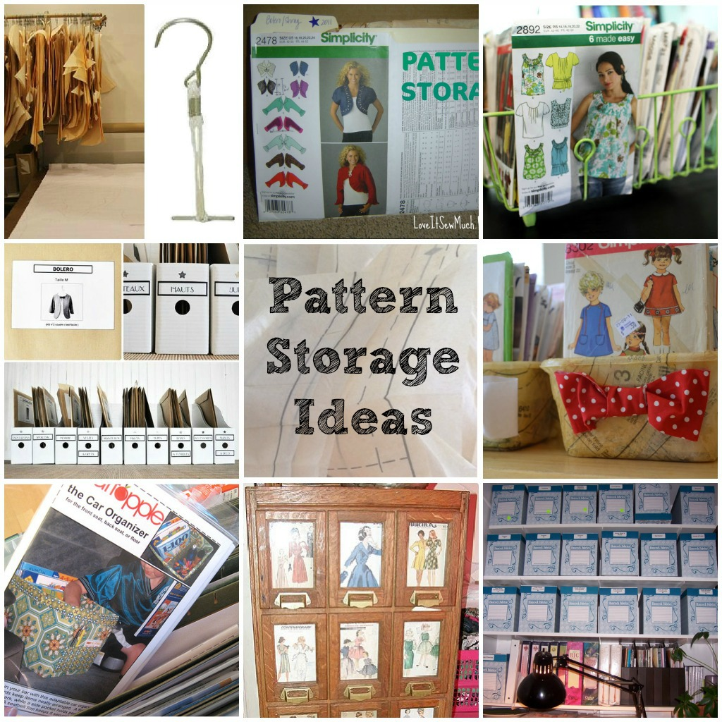 Pattern Storage Round Up on thesewingloftblog.com