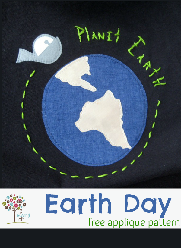 Earth Day Appliqué Design | The Sewing Loft