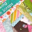 Sewing with Scraps on The Sewing Loft #scrapfabric