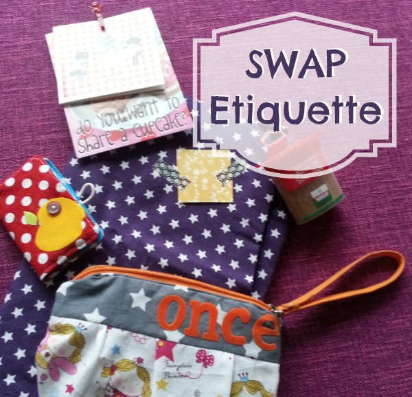 Swap Etiquette the basics