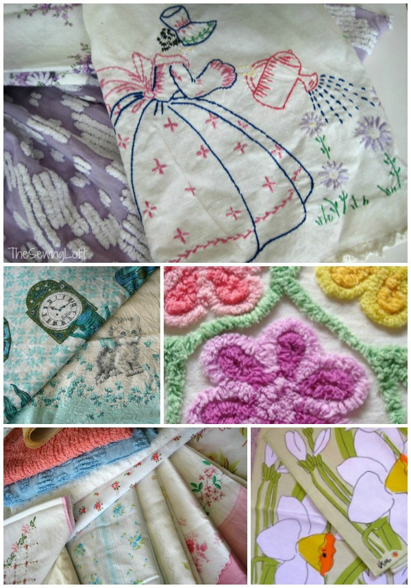Vintage Fabric Finds & Cleaning Tips   The Sewing Loft