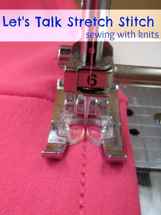 Let's Talk Stretch Stitch | The Sewing Loft