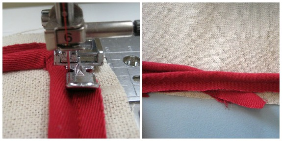 Simple pillow piping how to. The Sewing Loft
