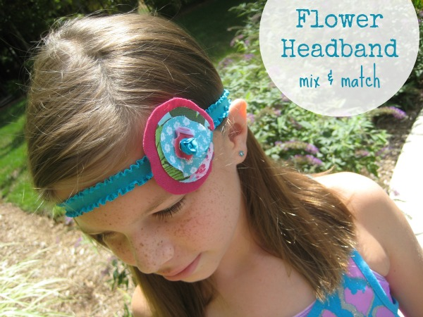 No Sew Easy Elastic Headband can be made in just minutes with scrap fabric. Learn how on The Sewing Loft