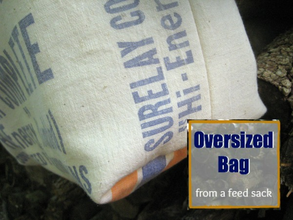 Oversized Bag | The Sewing Loft