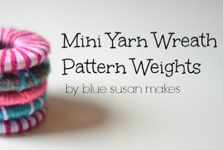 Discover and make pattern weights during National Sewing Month on The Sewing Loft