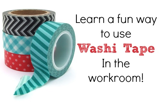 Discover a different way to use washi tape while sewing during National Sewing Month on The Sewing Loft