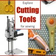Cutting tools are essential in sewing. Explore the different types. The Sewing Loft #sewing #sewingtools