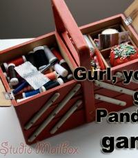 Pandora Gurl Artwork by Studio Mailbox on The Sewing Loft