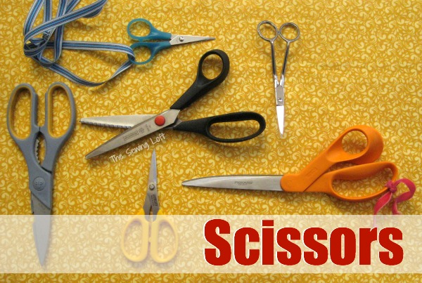 Cutting tools are essential in sewing. Explore the different types. The Sewing Loft