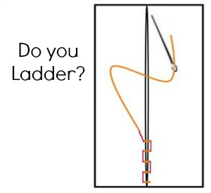Tips and Tricks for Ladder Stitching. Learn the basics on The Sewing Loft