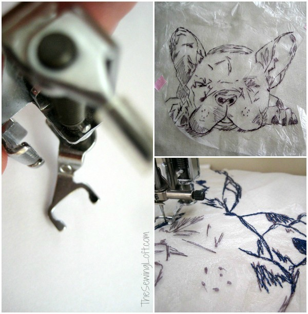 French Bulldog Pillow Project by The Sewing Loft